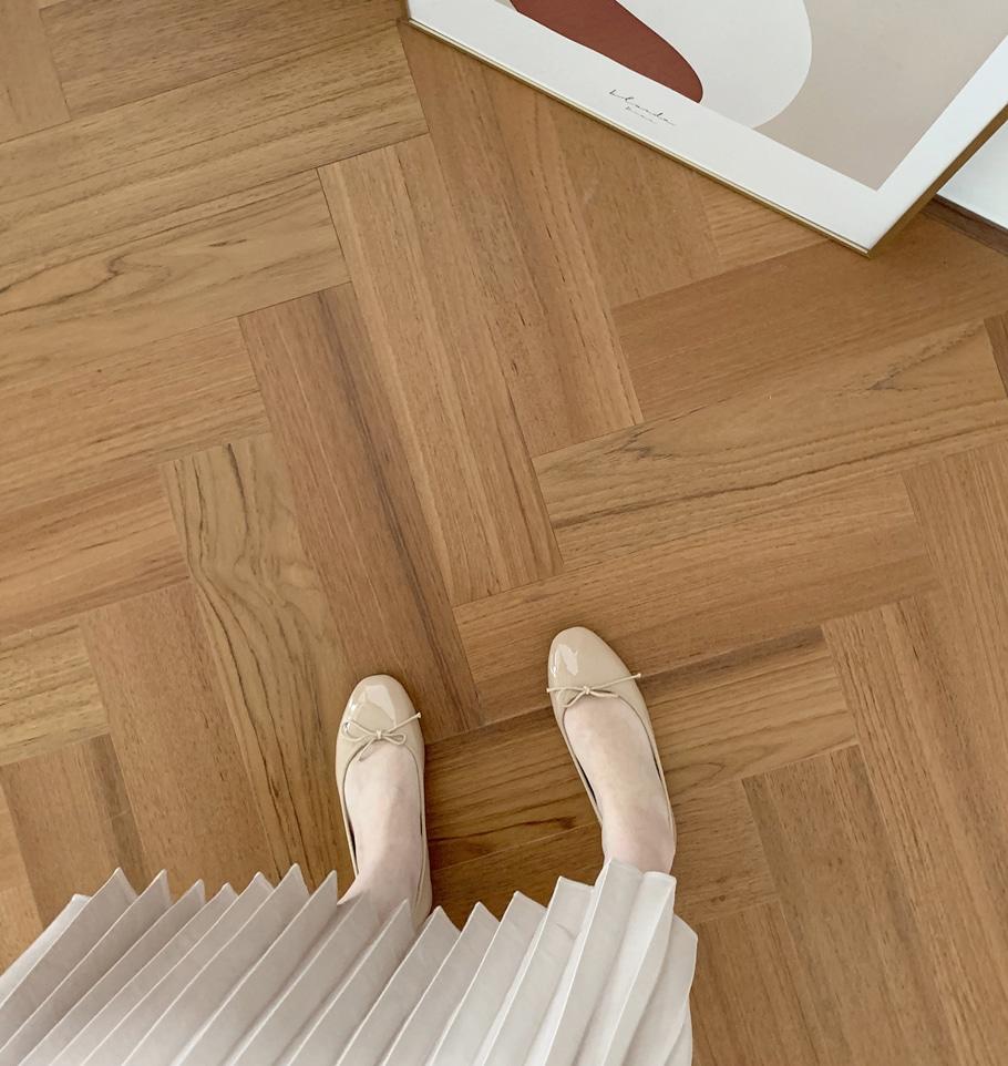 더보이더걸WS-6618 애나멜 여자 리본 플랫슈즈 단화 가을 - 더보이더걸, 40,800원, 플랫/미들힐, 플랫슈즈