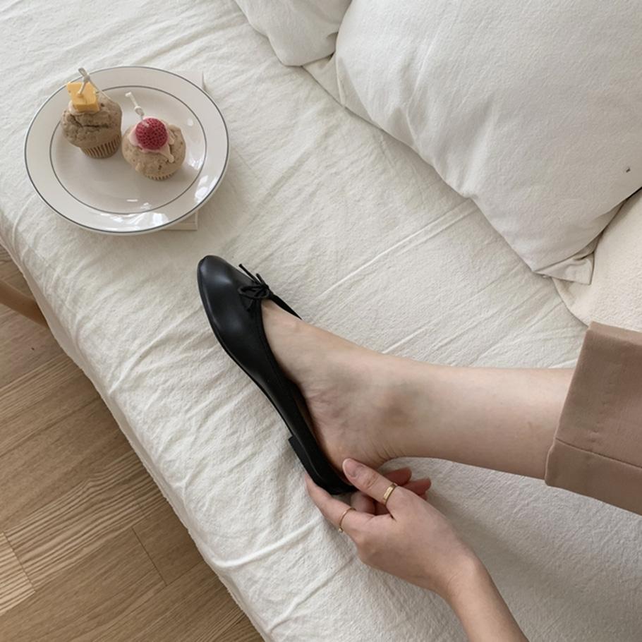 더보이더걸WS-6627 리본 여자 슬리퍼 뮬 플랫 블로퍼 가을 - 더보이더걸, 40,800원, 샌들/슬리퍼, 슬리퍼