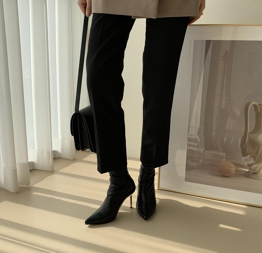 더보이더걸WS-6640(9cm) 여자 삭스 부츠 스웨이드 블랙 가을 - 더보이더걸, 62,800원, 부츠, 앵클부츠