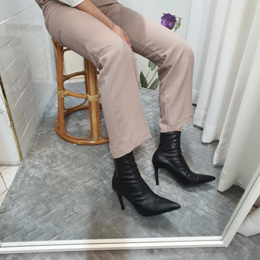 더보이더걸WS-6643(9cm) 뾰족 여자 앵클부츠 삭스부츠 가을 - 더보이더걸, 62,800원, 부츠, 앵클부츠